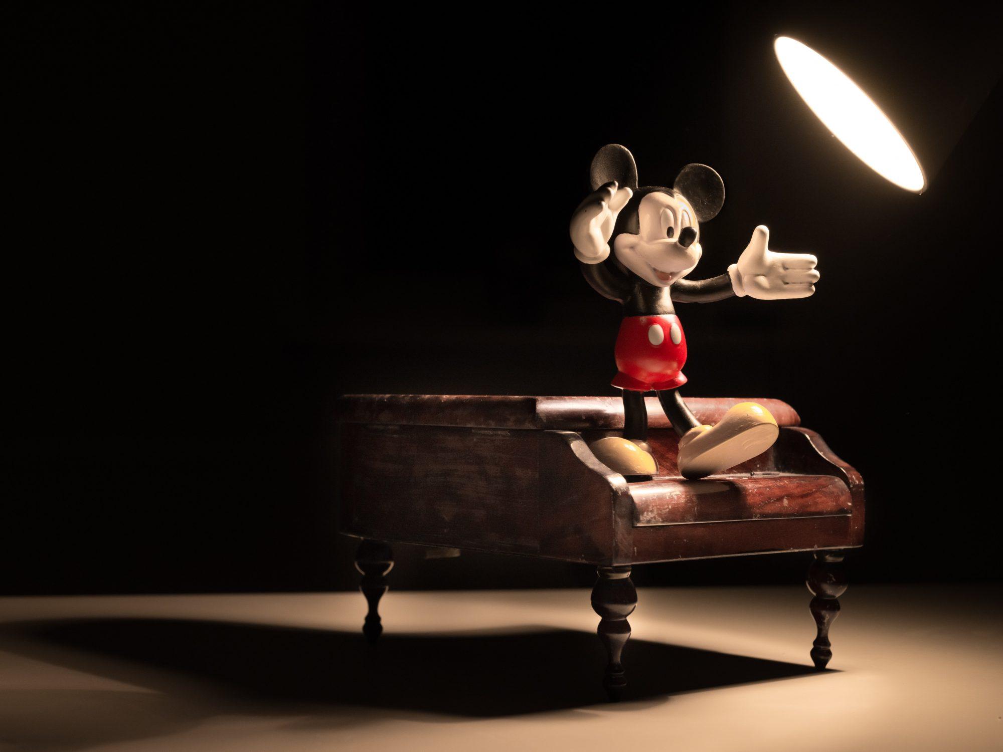 Mickey, l'as du dessin animé
